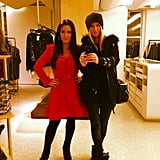 Nicky Hilton went shopping with her aunt Kyle Richards. Source: Instagram user nickyhilton