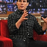 Tom Cruise told a story on Late Night With Jimmy Fallon.