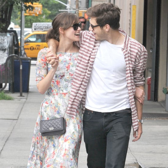 Keira Knightley and James Righton Kiss in SoHo | Pictures