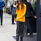 Victoria Beckham Wearing a Turtleneck Feb. 2016