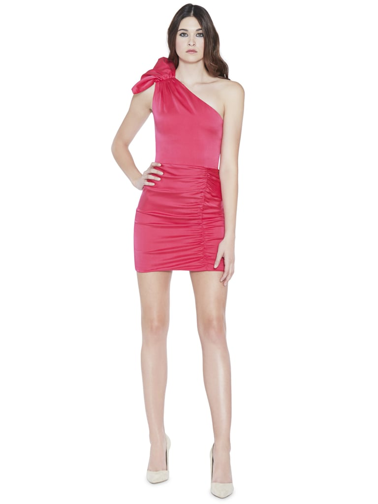 Alice olivia malita one shoulder ruffle fitted dress best alice olivia malita one shoulder ruffle fitted dress ombrellifo Gallery