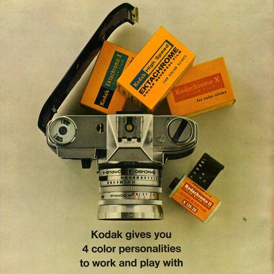 Vintage Camera Ads
