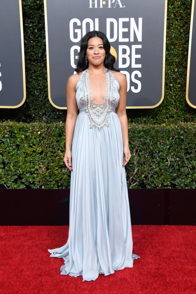 Gina Rodriguez at the 2019 Golden Globes