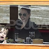 Shiloh Jolie-Pitt made Angelina Jolie laugh.