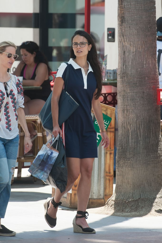 The Outfit Anyone Who Wears Glasses Should Own, as Demonstrated by Jordana Brewster