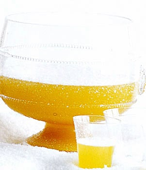Nonalcoholic Ginger Pineapple Sparkling Punch