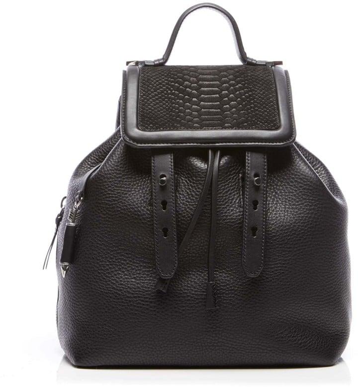 Mackage Tanner Snake/ Leather Backpack ($550)