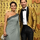 Nukaaka and Nikolaj Coster-Waldau at the 2019 Emmys