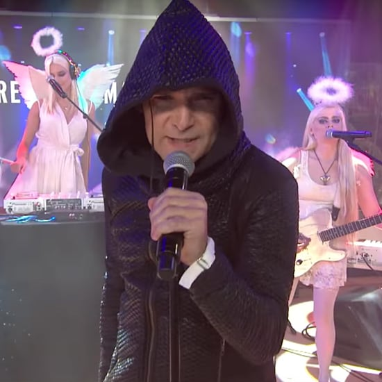 Corey Feldman Singing on the Today Show 2016