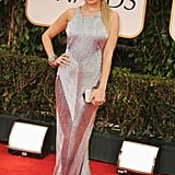 Nicole Richie arrived to the Golden Globes.