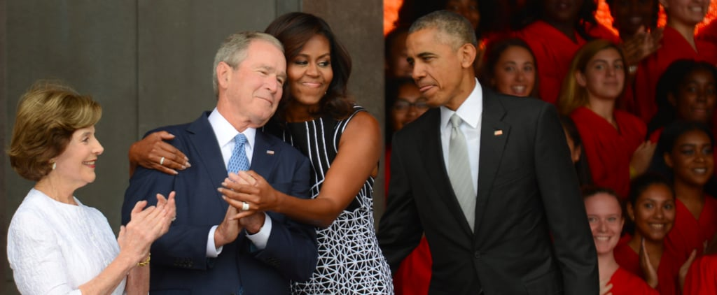 30 Photos of the Obamas and Bushes to Remind You We're Not as Divided as It Seems