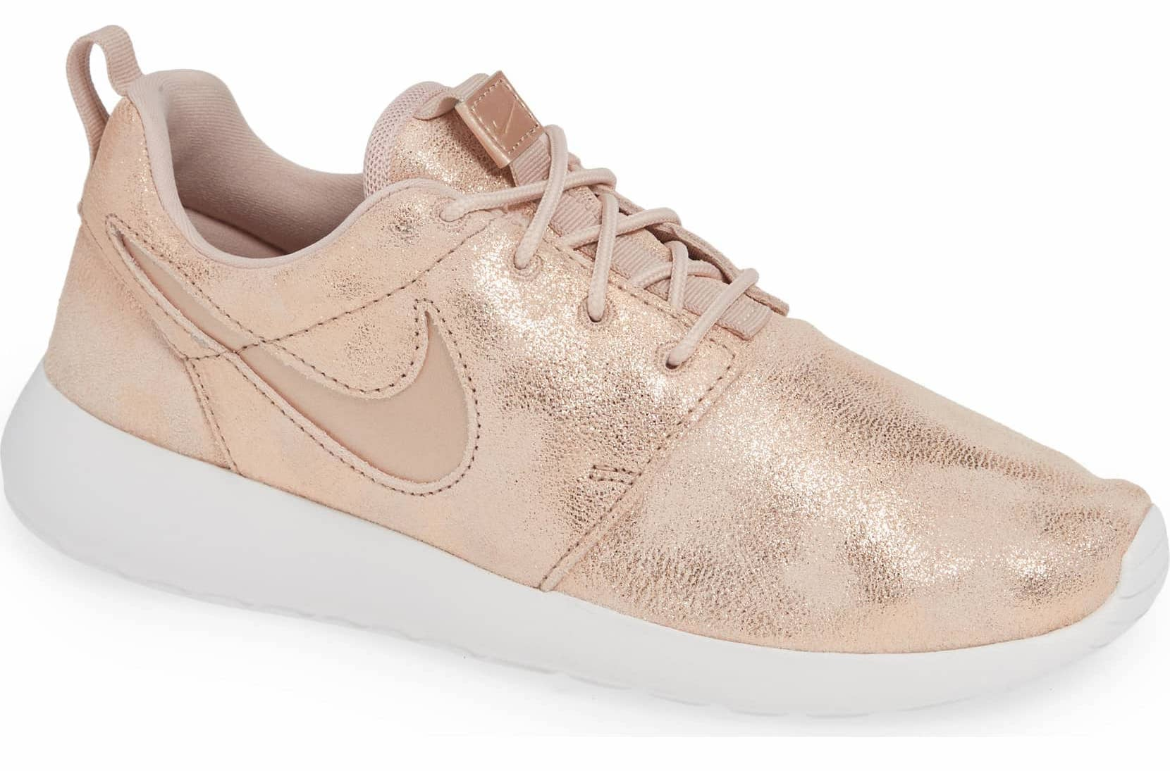 cb5c93765b1 Rose Gold Nike Sneakers