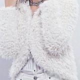 Free People Fuzzy Cropped Jacket ($168)