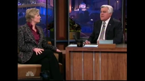 Jane Lynch Shares Sir Elton John's Crazy Glee Storyline Idea on Leno