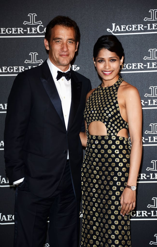 Clive Owen and Freida Pinto linked up at the Jaeger-LeCoultre party at the Venice Film Festival.