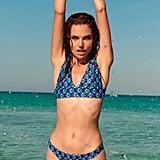 Dani's Blue Printed Bikini
