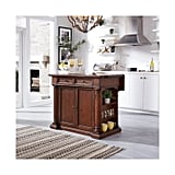 Beacon Hill Solid-Wood Top Kitchen Island