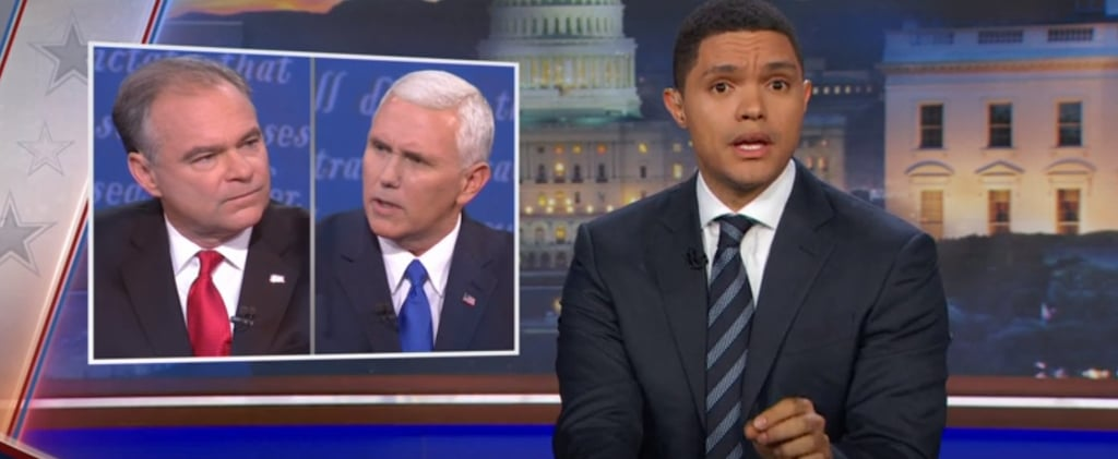 Trevor Noah Segment on Vice Presidential Debate 2016