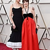 Pictured: Emily and Zooey Deschanel