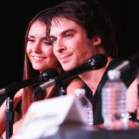 Nina Dobrev and Ian Somerhalder at Comic-Con 2012