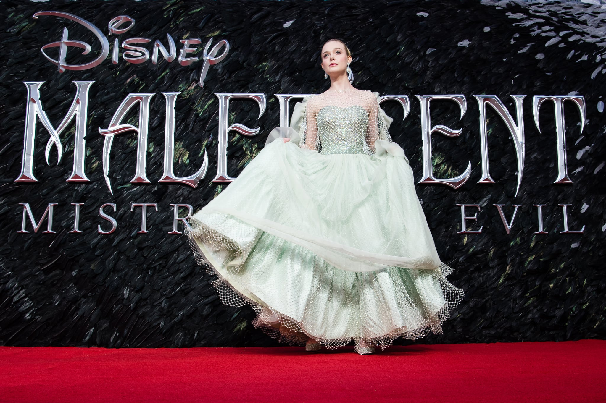 Elle Fanning At The Maleficent Mistress Of Evil Premiere In