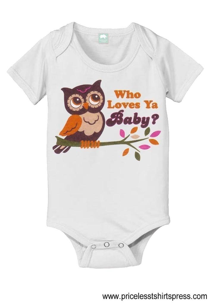 Baby Owl Onesie ($16)