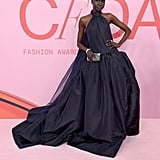 Alek Wek at the 2019 CFDA Awards