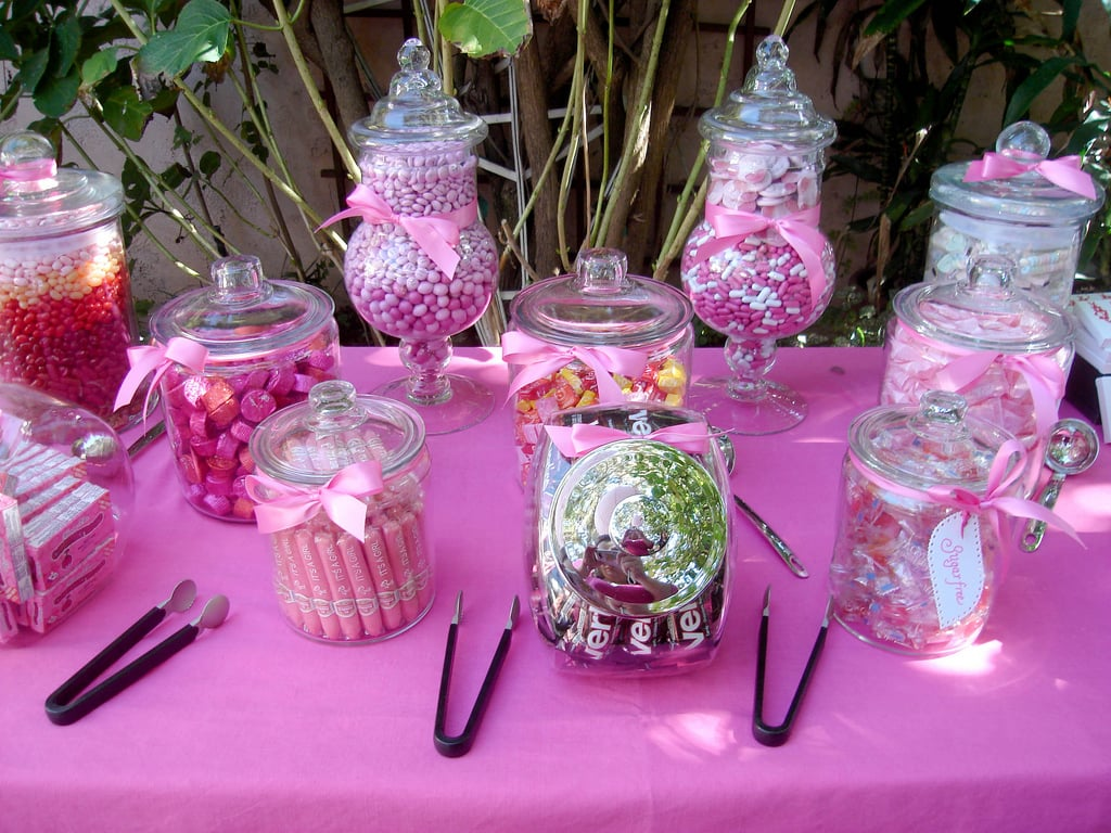 A Colorful Candy Bar Impresses | Classic Baby Shower Themes, Games ...