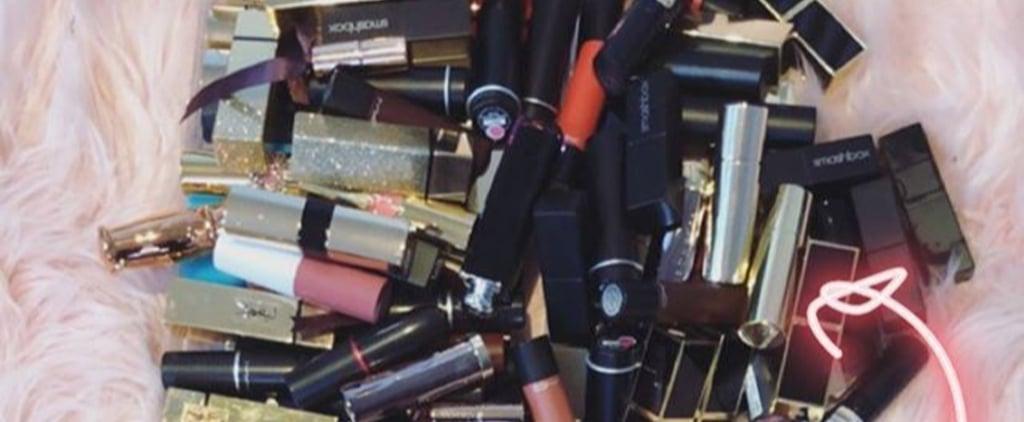 Zoella's Lipstick Collection Storage