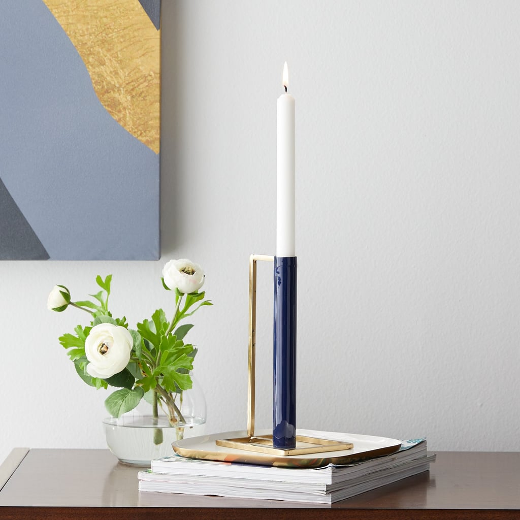 Walmart Home Decorations: MoDRN Glam Geo Candle Holder