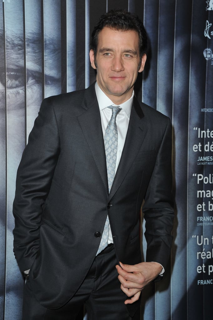 Clive Owen suited up in France.