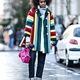Invest in a Rainbow Coat That Becomes Your Signature Outerwear