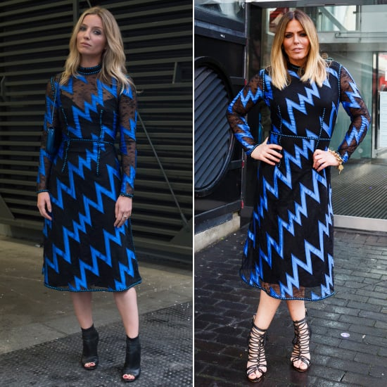 Patsy Kensit & Annabelle Wallis in a Christopher Kane Dress