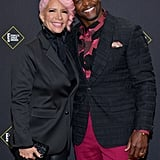 Rebecca and Terry Crews at the 2019 People's Choice Awards