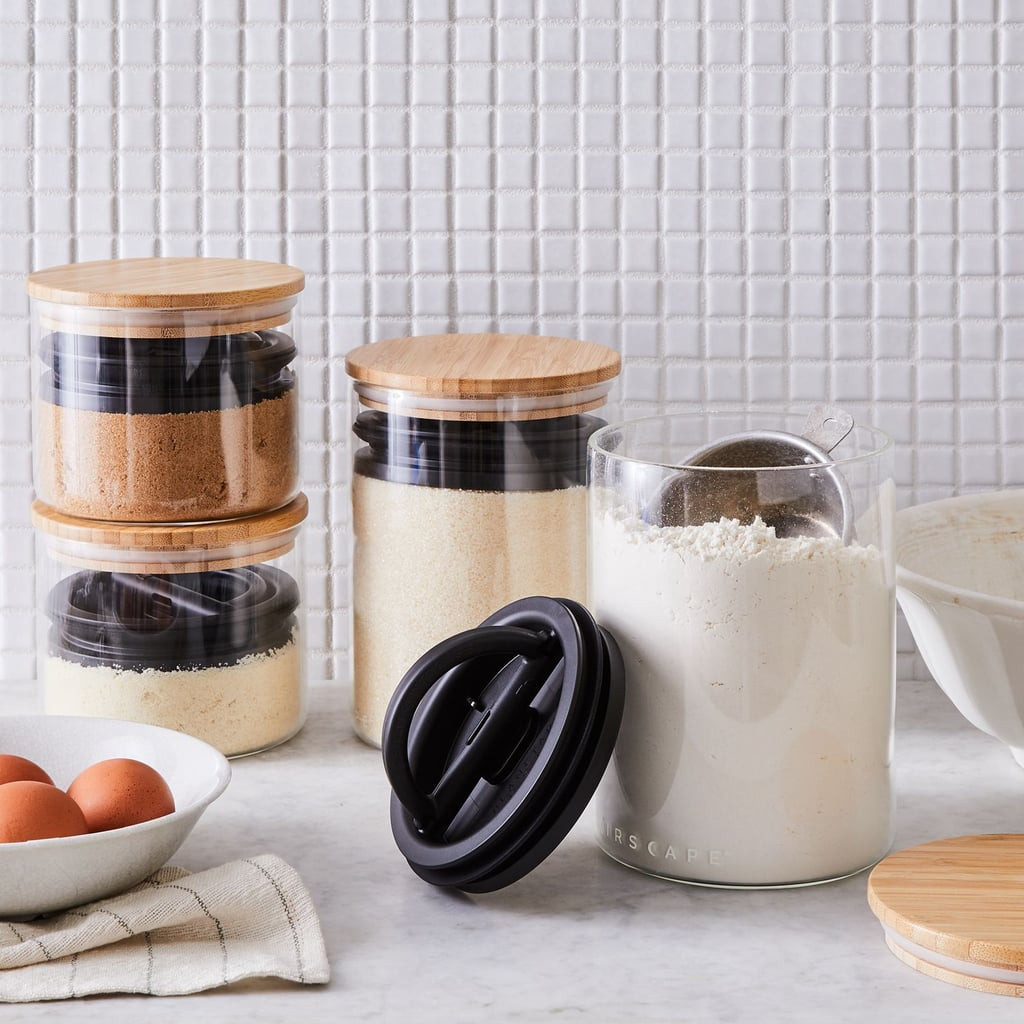 For an Airtight Seal: Planetary Design Airscape Glass Food Storage Containers