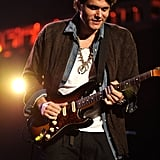 John Mayer Playing at the Love For Levon Concert | Pictures