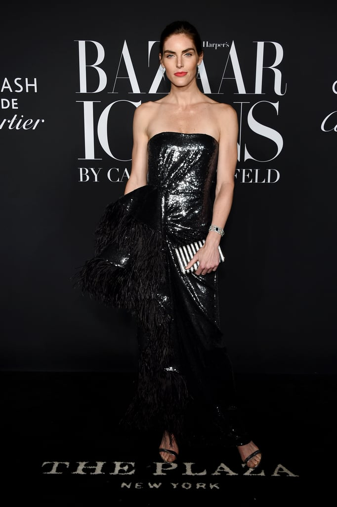 Hilary Rhoda at the Harper's Bazaar ICONS Party During New York Fashion Week