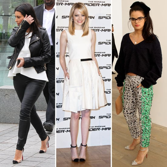 christian louboutin celebrities wearing