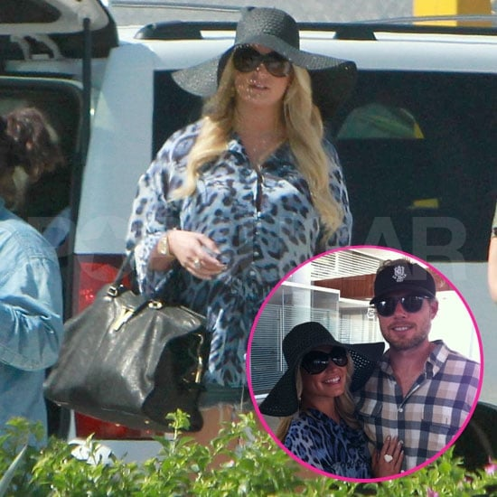 Jessica Simpson and Eric Johnson Pictures on Vacation in Cabo