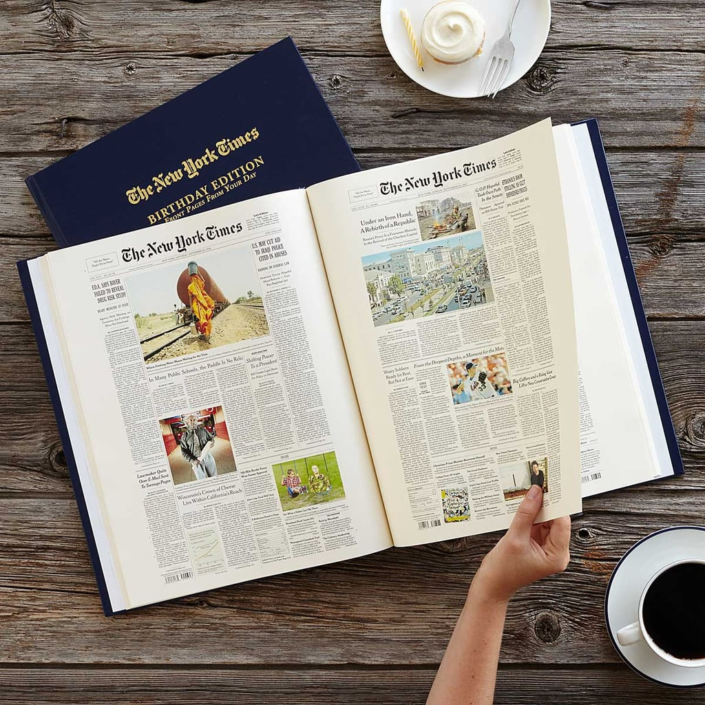 New York Times Custom Birthday Book | Best Gifts For ...