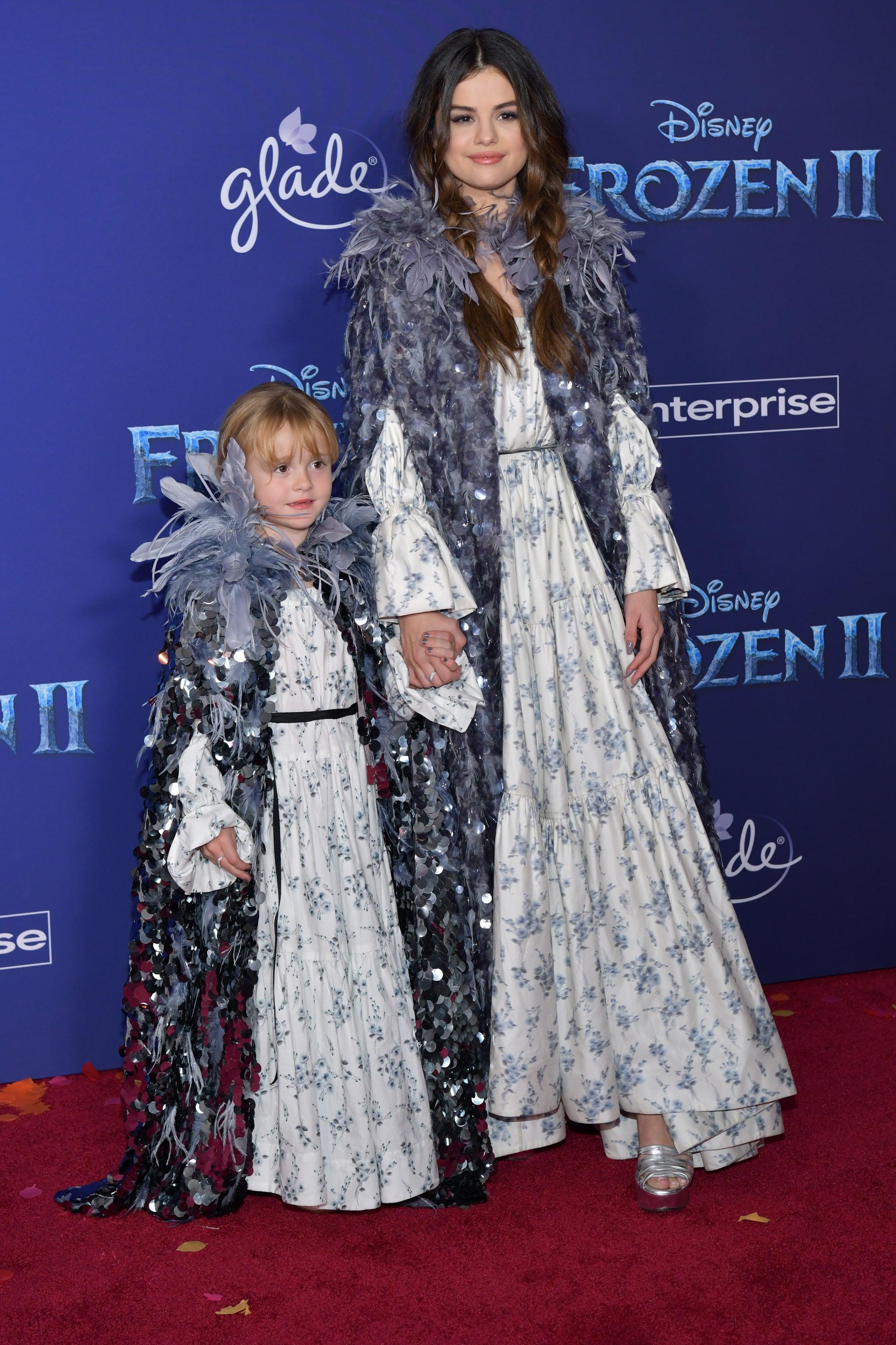 Selena Gomez Wore Marc Jacobs To The Frozen 2 Premiere Popsugar Fashion