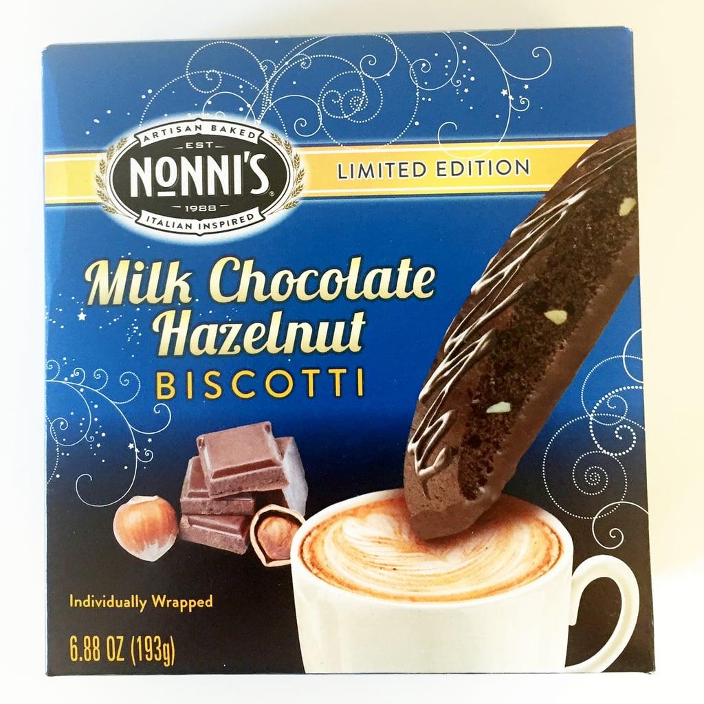 Nonni's Milk Chocolate Hazelnut Biscotti