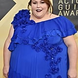 Chrissy Metz's Blue Dress at SAG Awards 2018