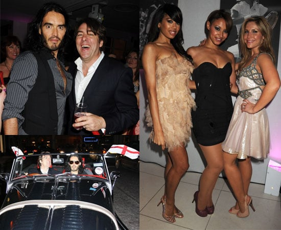 Pictures of Russell Brand, Jonathan Ross, Matthew Morrison, Chace Crawford, Sugababes, Maria Sharapova Pre-Wimbledon Party