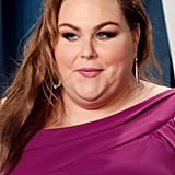 Chrissy Metz at the Vanity Fair Oscars Afterparty 2020