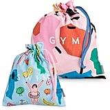 Gym & Swim Travel Bags Set of Two