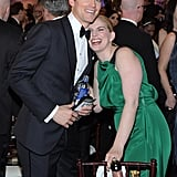 Pictured: Matt Bomer and Anna Chlumsky