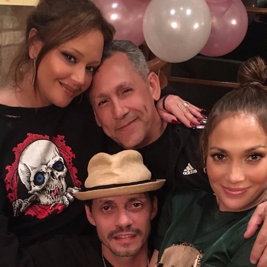 Jennifer Lopez and Marc Anthony at Their Twins' Birthday