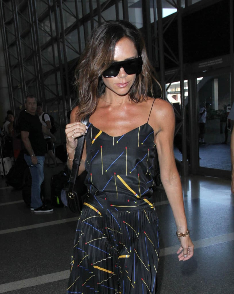 Victoria Beckham's Travel Dress Is Your End-of-Summer Dream