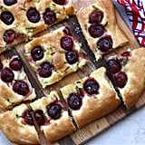 Cherry Rosemary Sea Salt Foccacia